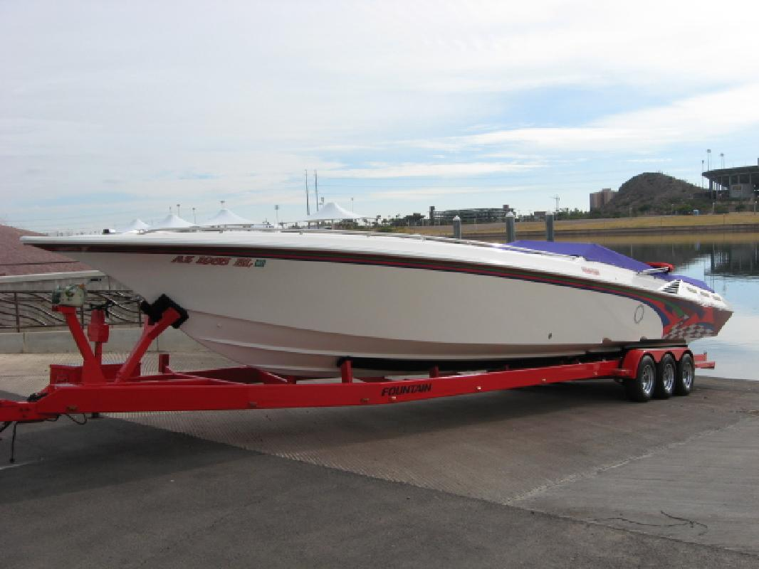 1997 42' Fountain Powerboats Inc. 42 EXECUTIONER in Tempe, Arizona