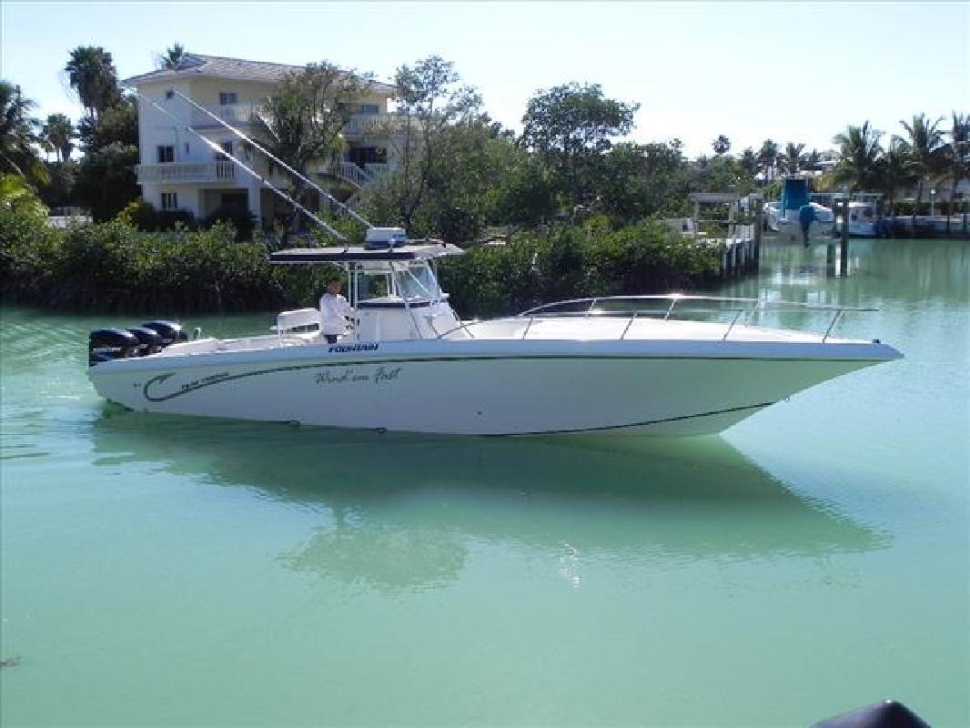 2003 38 39 fountain powerboats inc fish boats 38te for sale