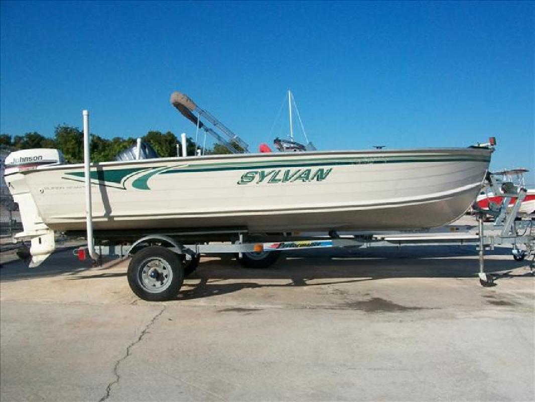 1999 16 39 sylvan smoker craft inc fishing boat 16 super for Sylvan fishing boats