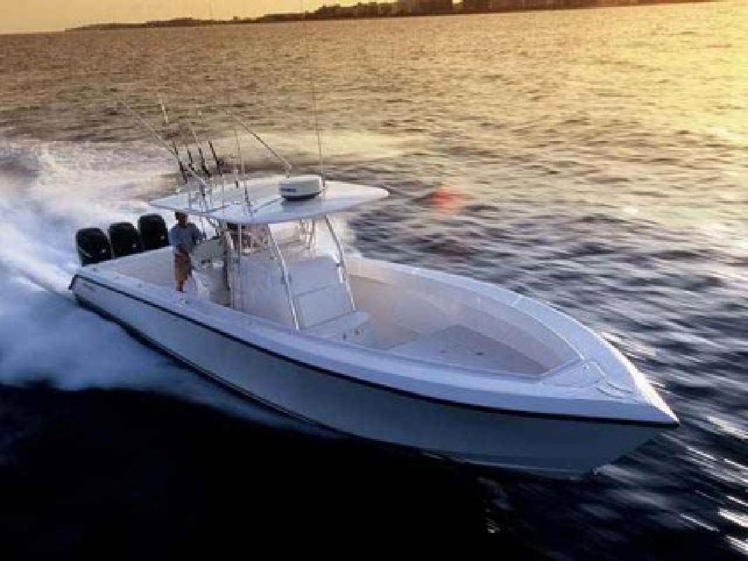 $315,550 New 2007 Venture Marine, Inc. Fishing Boat 39