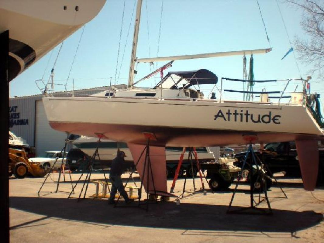 1998 34' J BOATS INC J Boats J105 for sale in Muskegon, Michigan | All ...