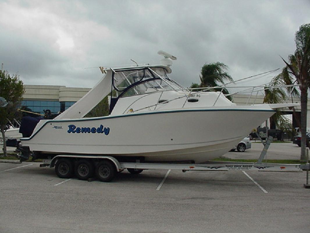 1997 29' Mako Marine International 293 WALKAROUND