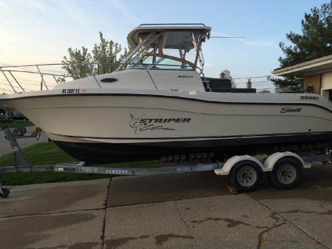 Striper new and used boats for sale in michigan for Fishing boats for sale in michigan