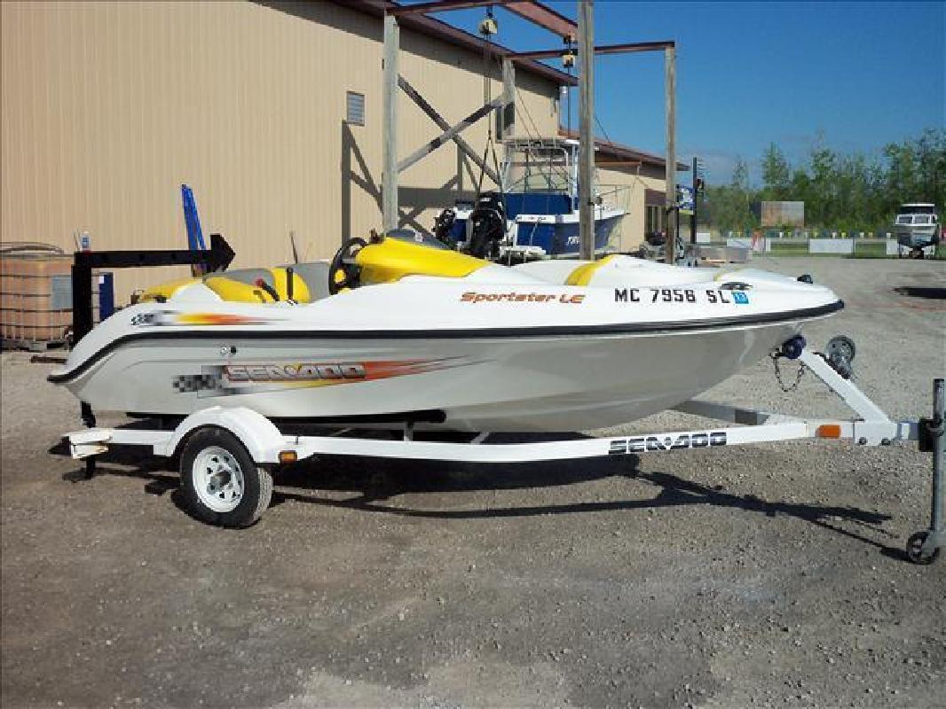 2004 SeaDoo Jet Boat 14ft Jet Boat Au Gres MI