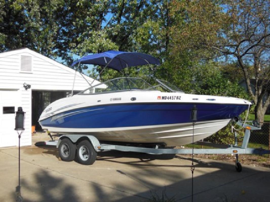 $15,000 2006 Yamaha SX 210 Jet Boat & Trailer