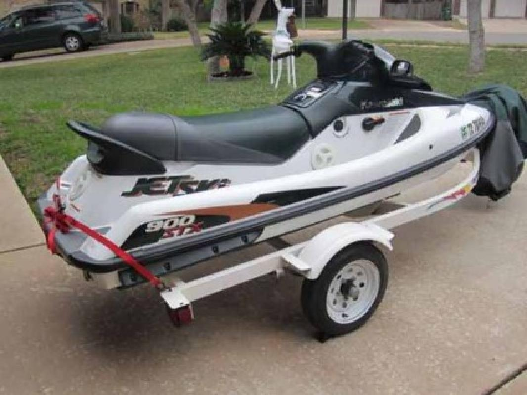 2700 1999 Kawasaki 900 Stx Jet Ski And Trailer