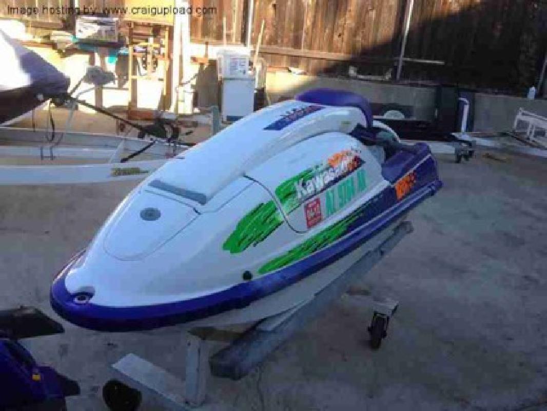 $1,650 1994 Kawasaki 750sx Stand up Jet Ski (Covina, CA)