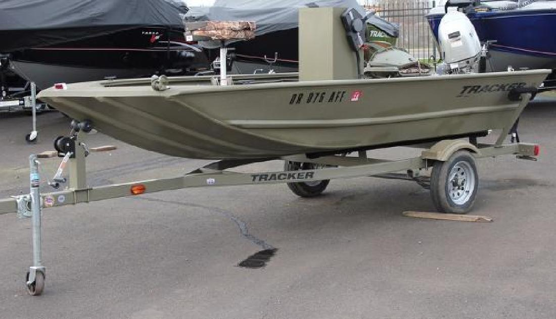 2015 Tracker Grizzly 1448 Jon Boat Eugene OR for sale in