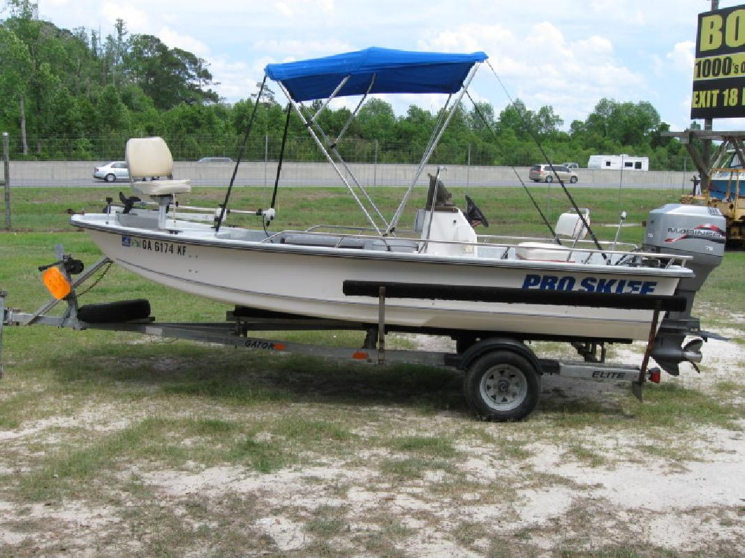 1996 17 39 Kenner Boats K17 Pro Skiff Tunnel For Sale In
