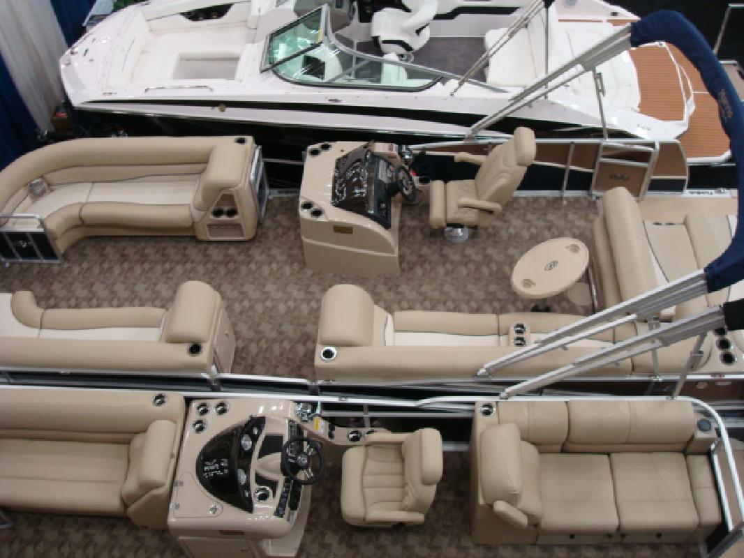 2011 27' Harris - Kayot Inc pontoon 250grandmariner