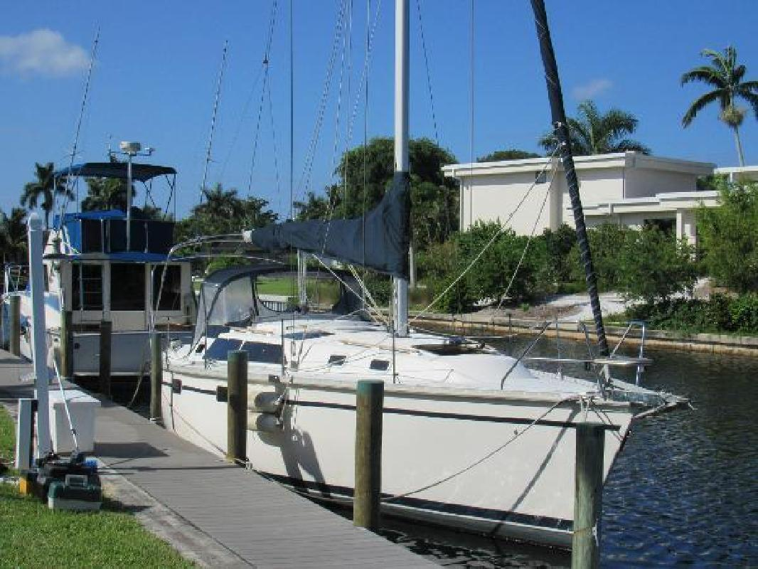 1991 Hunter 335 wing keel Fort Myers FL