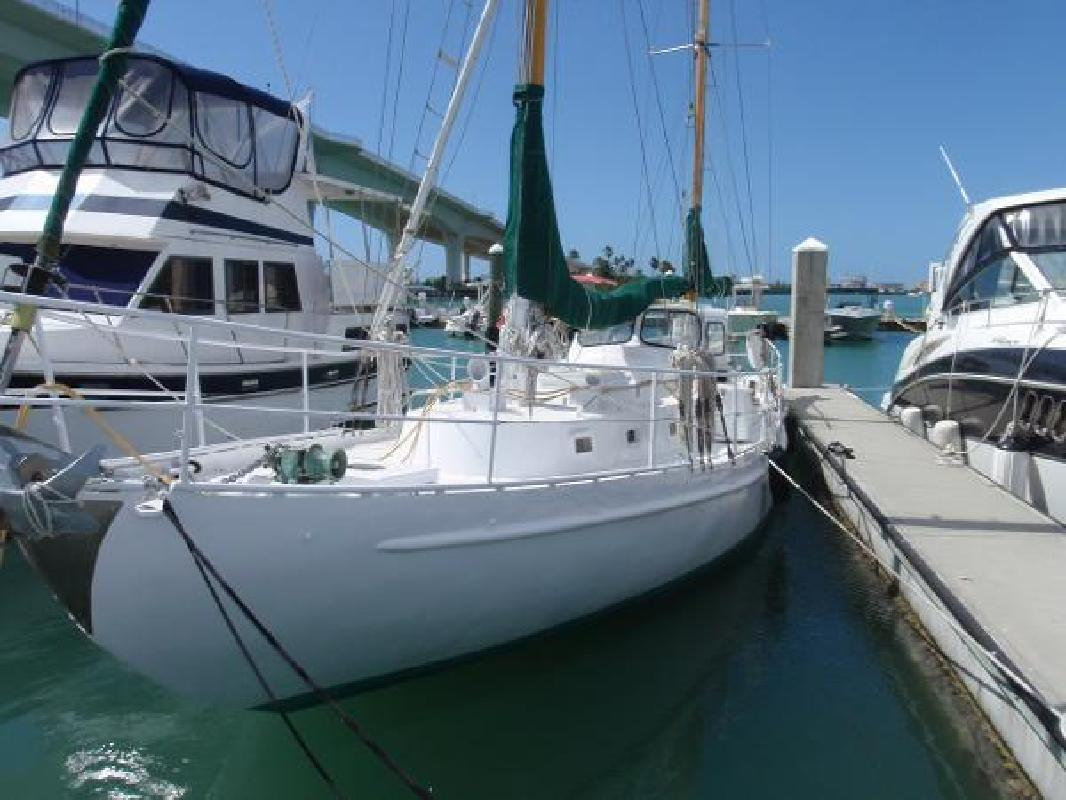 1958 DeVries Lentsch Steel Ketch Clearwater FL