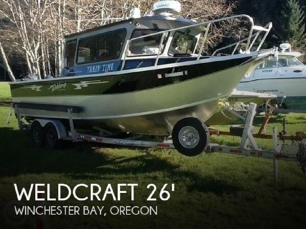 2011 Weldcraft 260 Cuddy King Winchester Bay OR