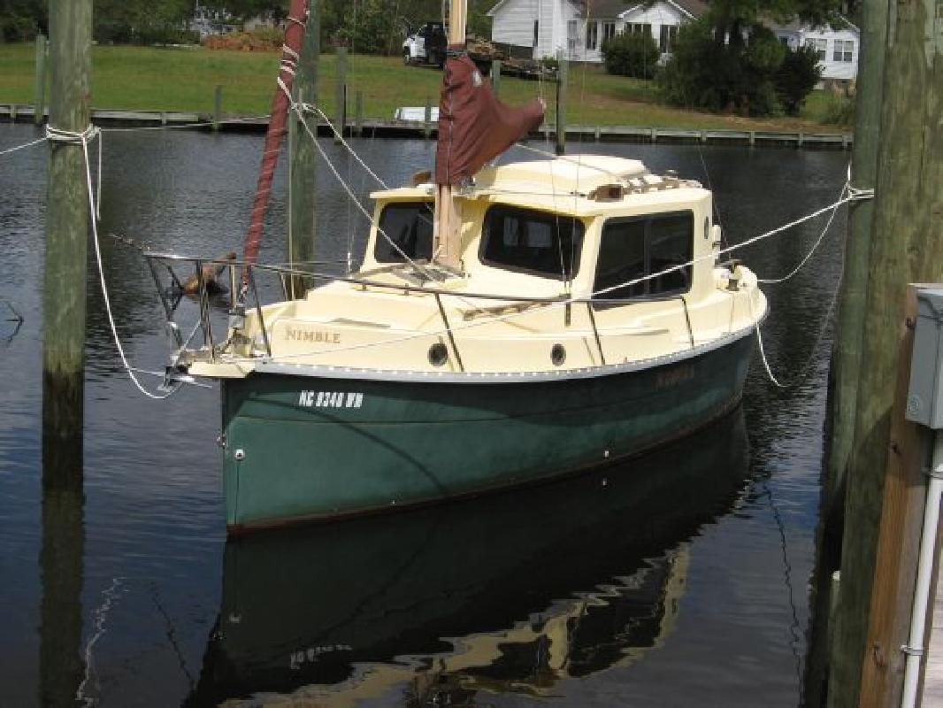 2000 26' Nimble Boats, Inc. Kodiak Pilothouse Motor Sailor