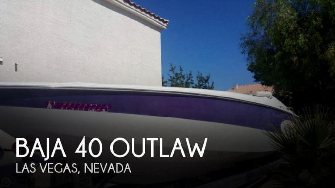 2001 Baia 40 Outlaw Las Vegas NV