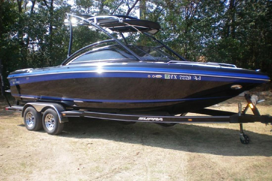 2007 22 39 supra launch 22ssv for sale in lewisville texas all boat. Black Bedroom Furniture Sets. Home Design Ideas