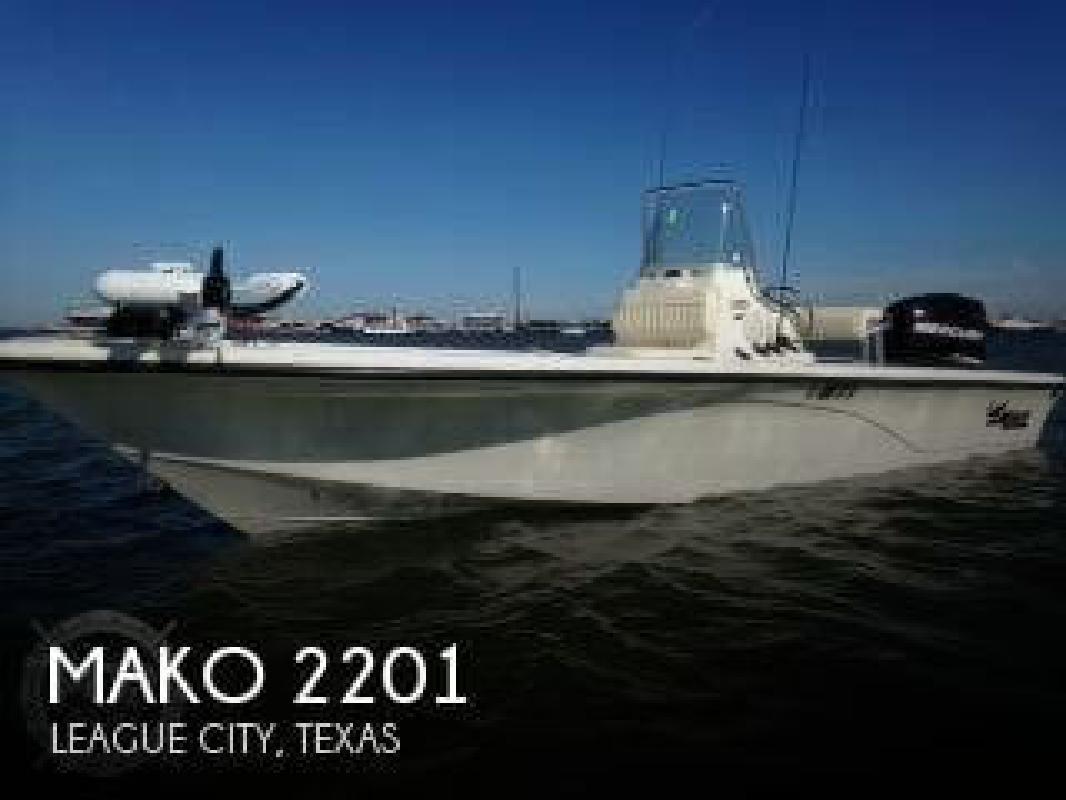 2011 Mako Marine 2201 League City TX