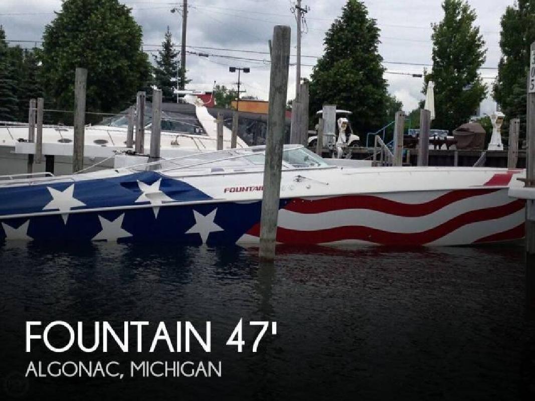 1997 Fountain Powerboats 47 Lightning Algonac MI