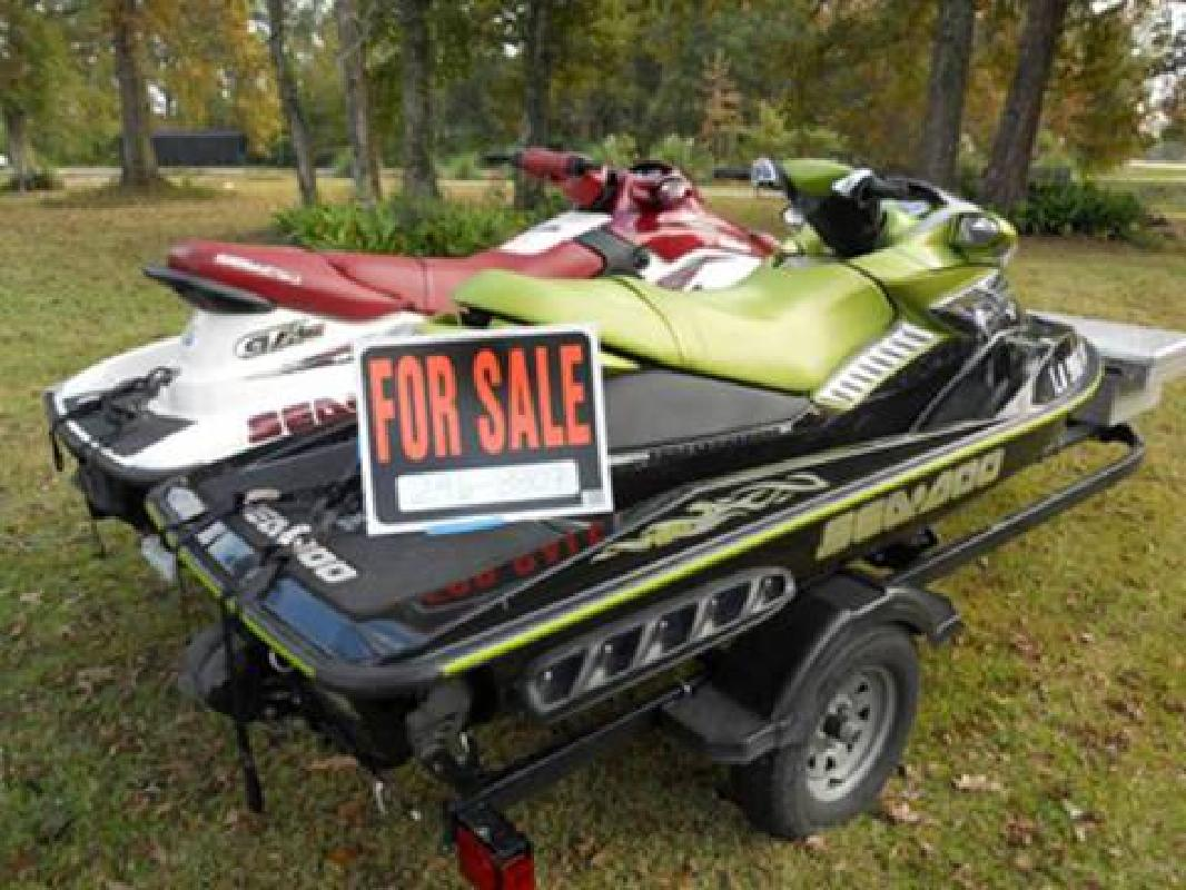 Seadoo RXP Supercharged and GTX Limited (Jetskis) + Double