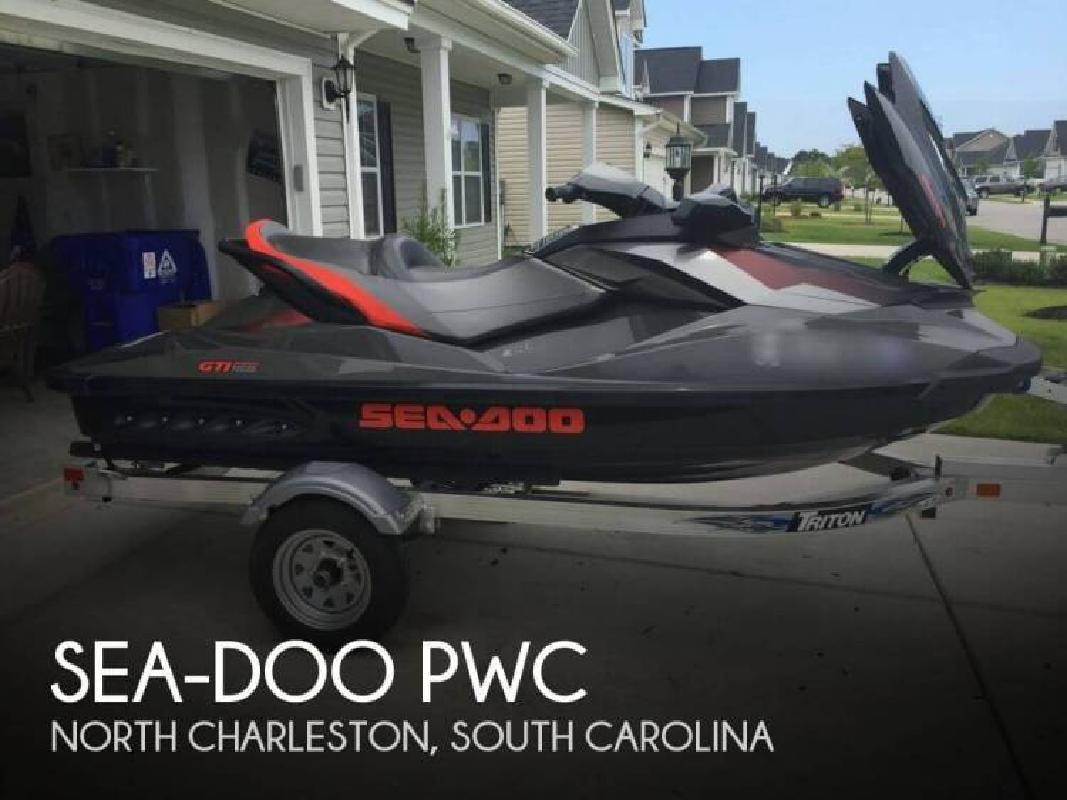 2014 SeaDoo GTI 155 Limited North Charleston SC