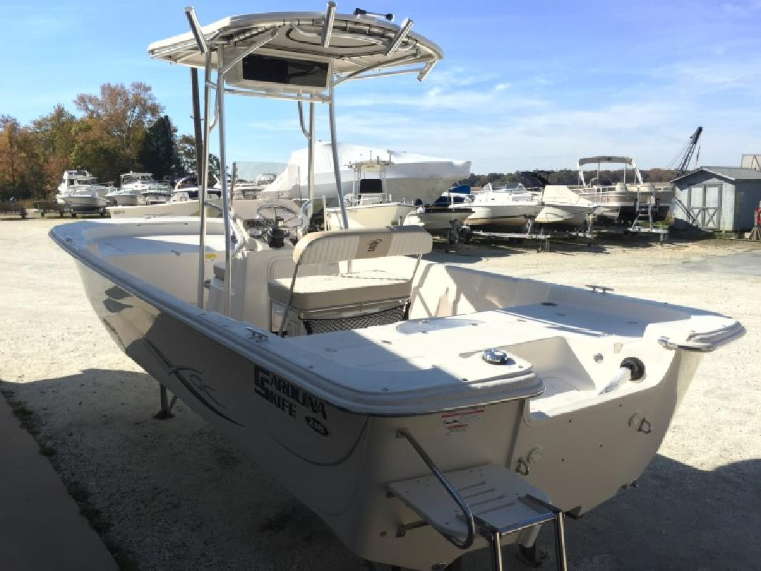 2016 Carolina Skiff 218 DLV Yamaha 150 Load Rite Trailer in Millville, NJ