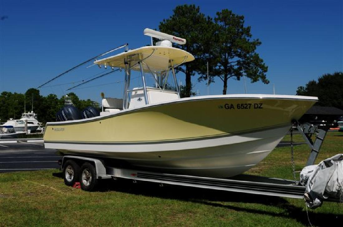 2006 24 39 regulator marine 24fs loaded only 140 hours for Yamaha outboards savannah ga