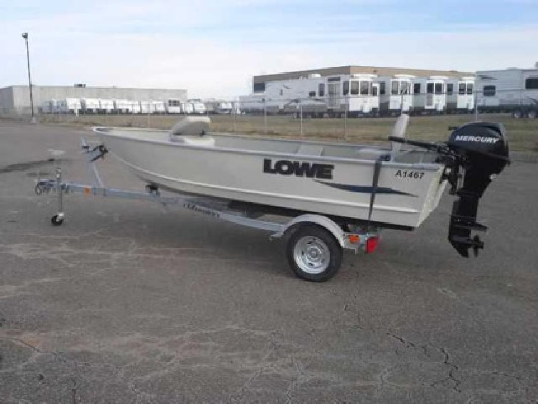 $4,750 Used 2011 Lowe V1467