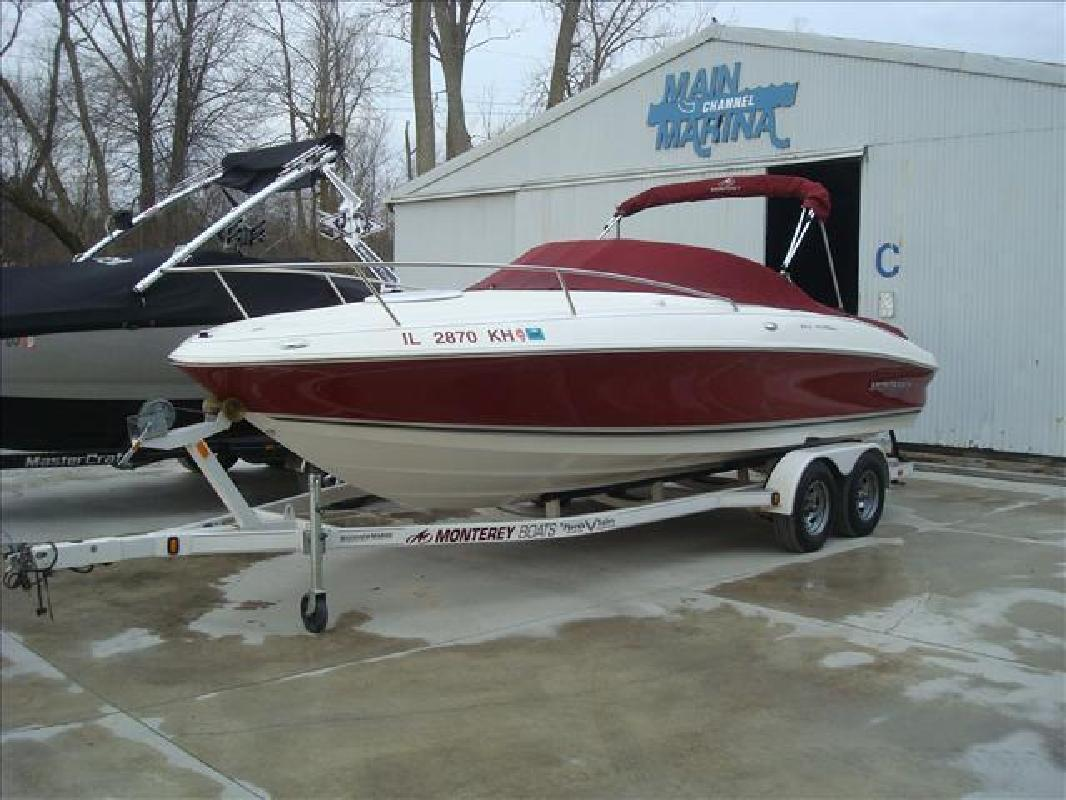 2006 Monterey Boats 218 LSC Syracuse IN