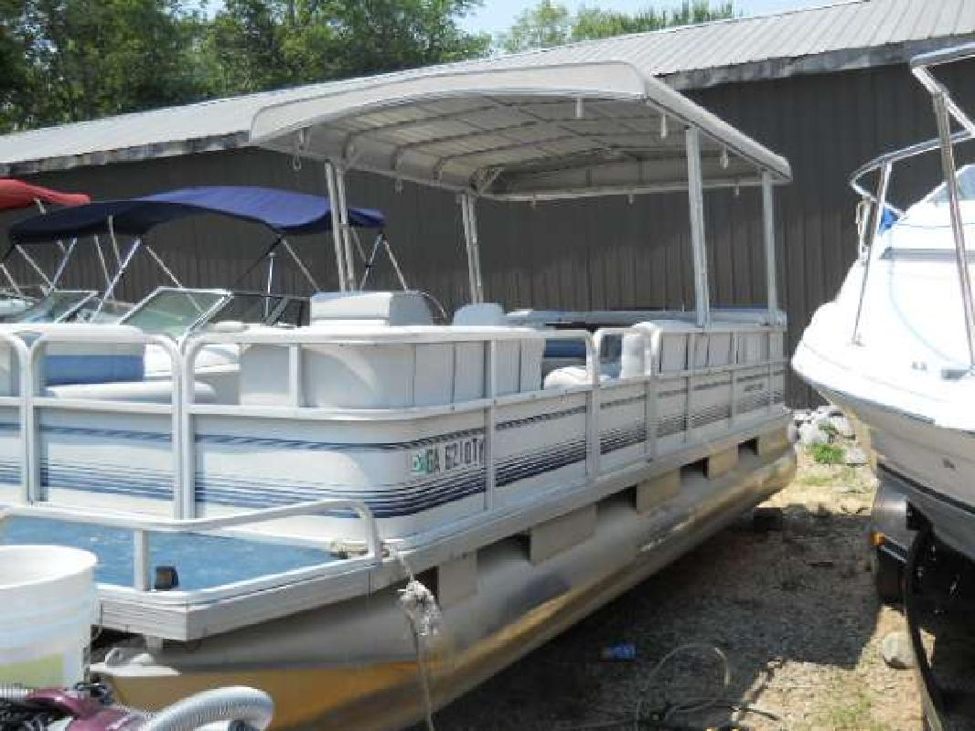 1988 24 riviera marine pty ltd riviera cruiser 24 pontoon for sale in dawsonville