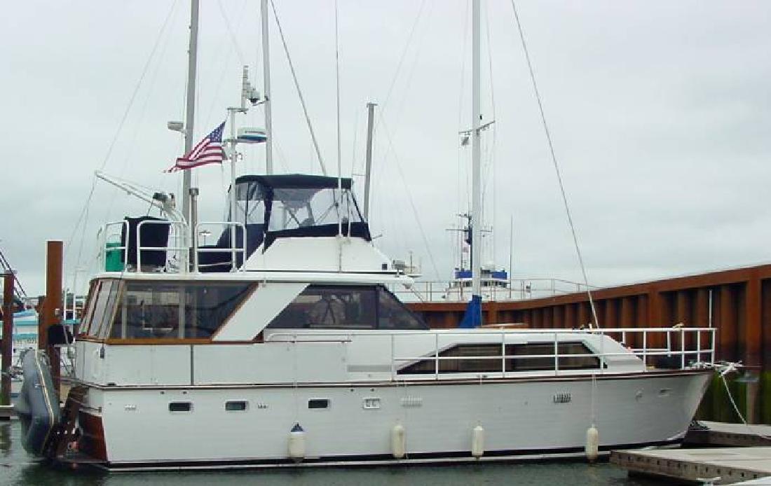 1974 50' Trojan Wooden Luxury Motor Yacht in Portland, Oregon