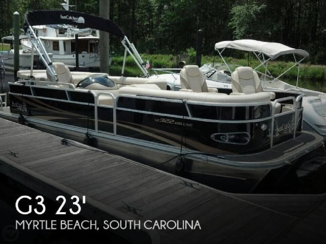 2012 G Three Boats Suncatcher LX322 DLX Myrtle Beach SC for