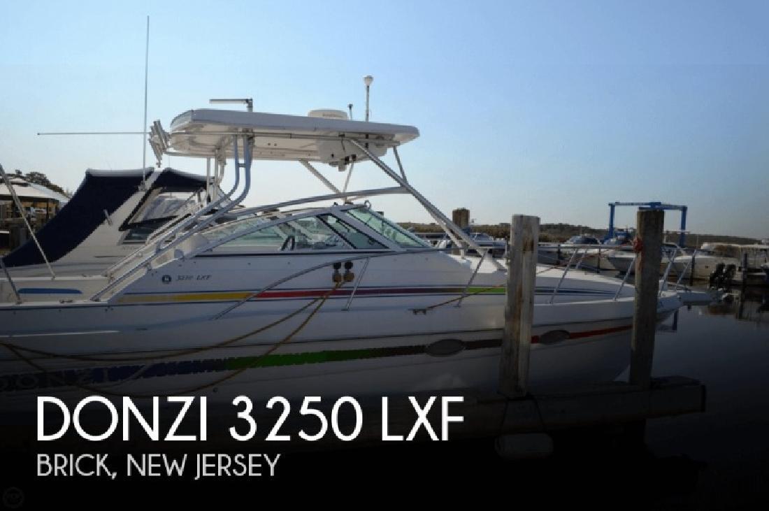 1998 Donzi Marine 3250 LXF Brick NJ