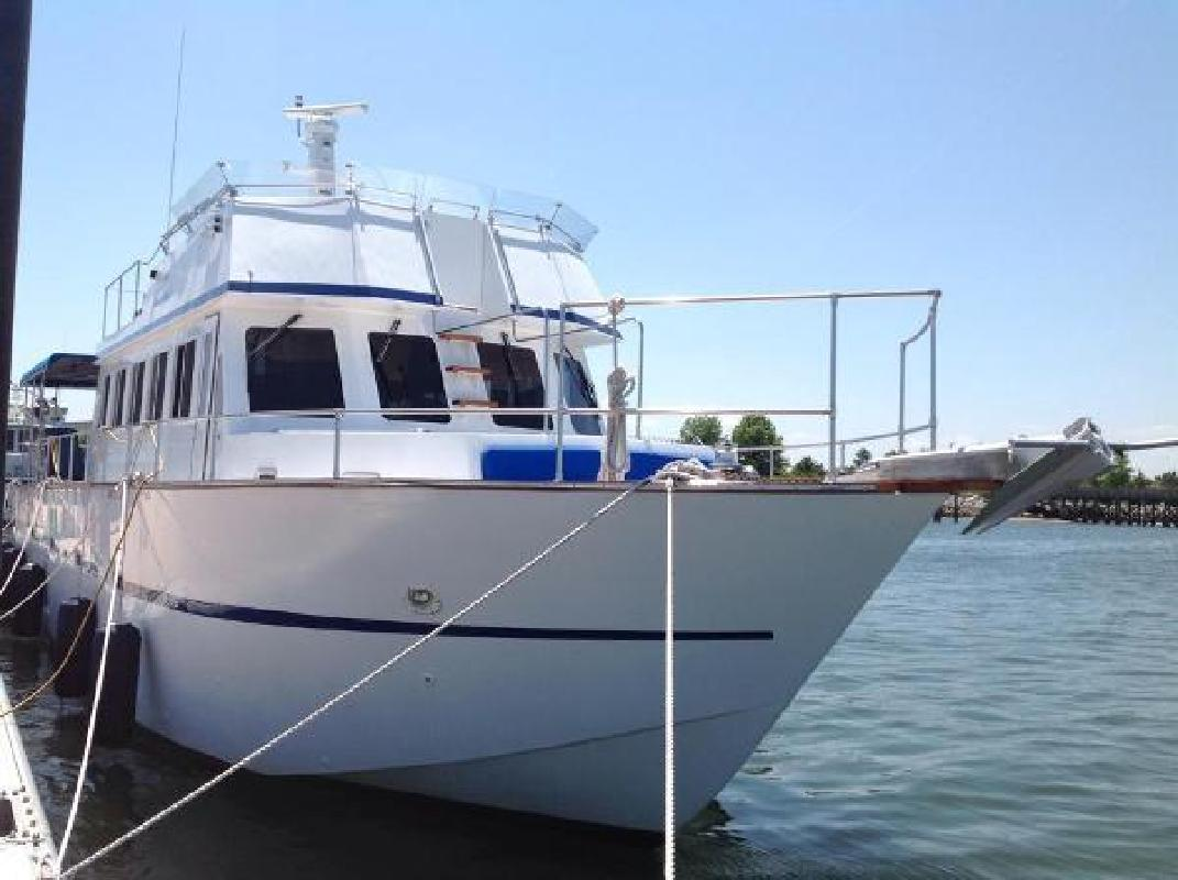 1999 Custom MOTOR YACHT NFalmouthPlymouthMattapoisett MA in Westbrook, CT