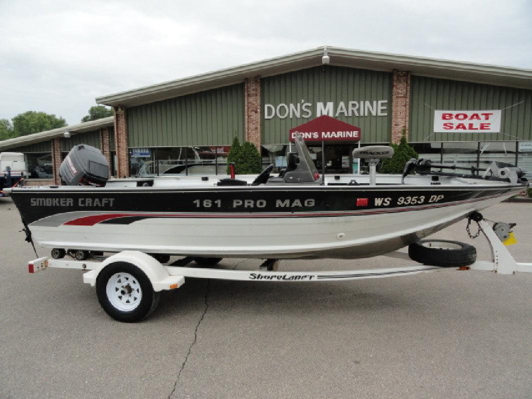 Smoker craft new and used boats for sale in wisconsin for Smoker craft pro mag