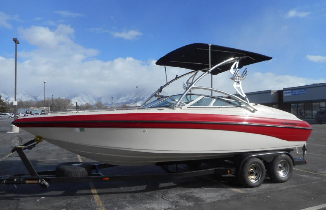 1996 22 Crownline 225 Bowrider in 3600 S Main St. In Salt Lake City, UT