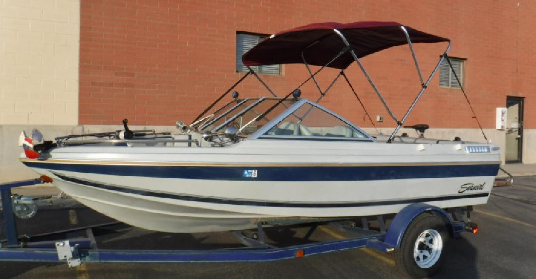 1987 16 Seaswirl Tahoe Bowrider in 3600 S Main St. In Salt Lake City, UT