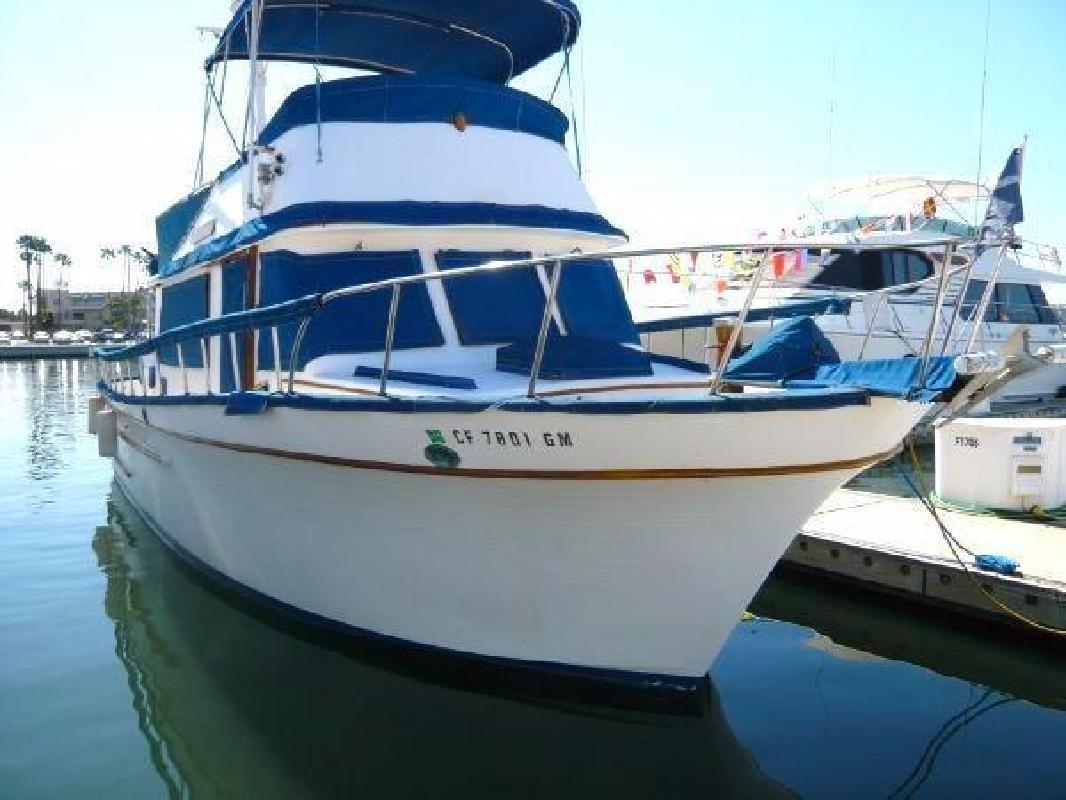 1979 PT 41 Trawler Marina del Rey CA