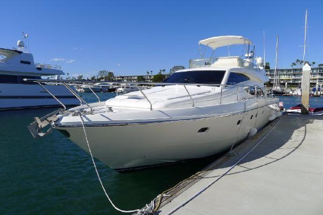 2004 Ferretti 530 Motor Yacht Marina del Rey CA