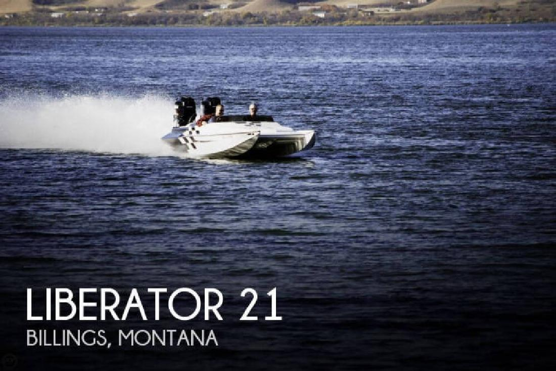 2002 Liberator by Baurley Marine 21 Billings MT