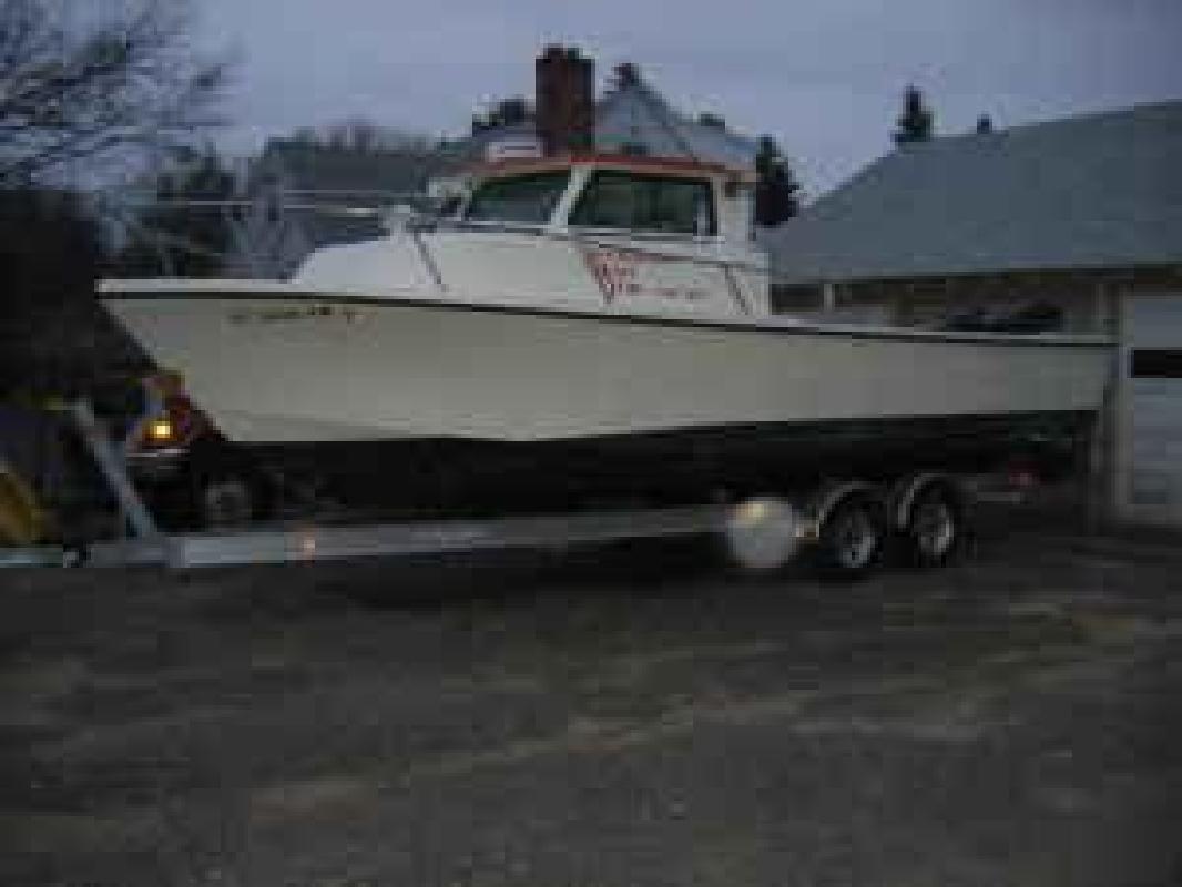 1988 25' Parker Marine 25 Chesapeake