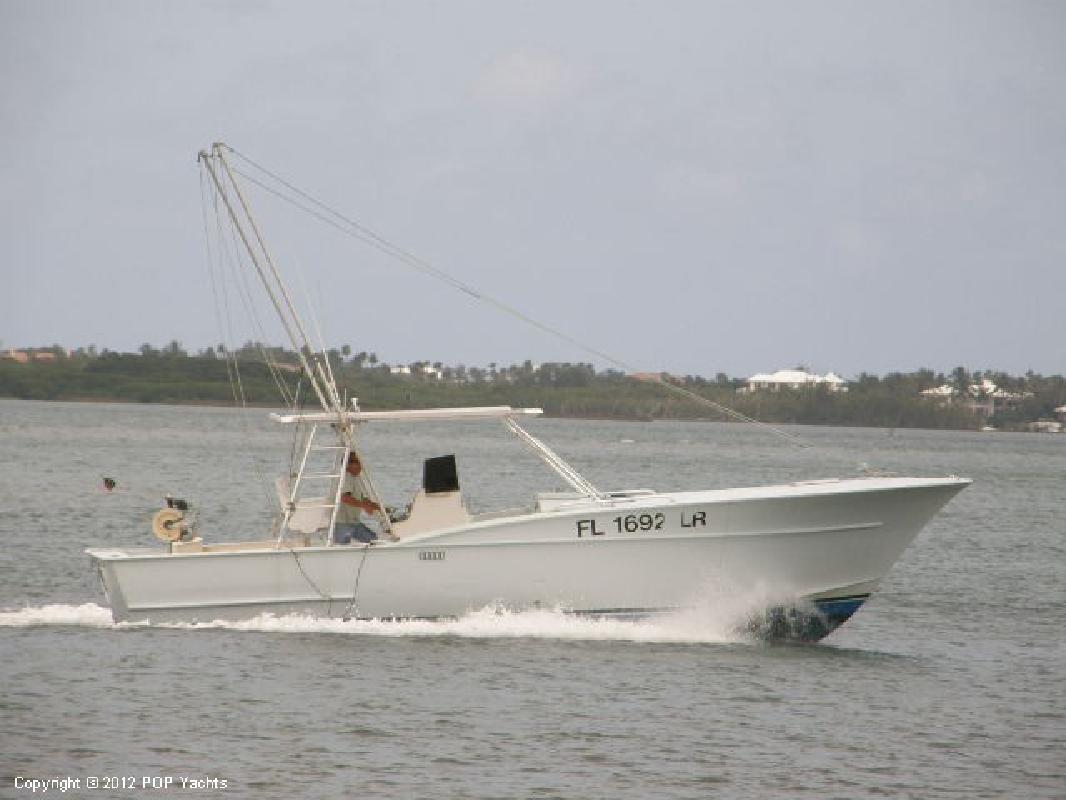 1980 34' Ocean Master Marine 34 Custom