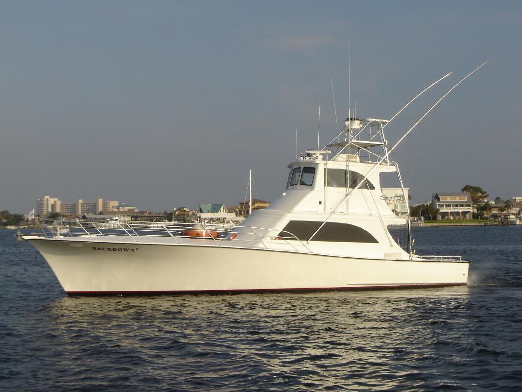 1989 61' Miller Marine custom sportfish