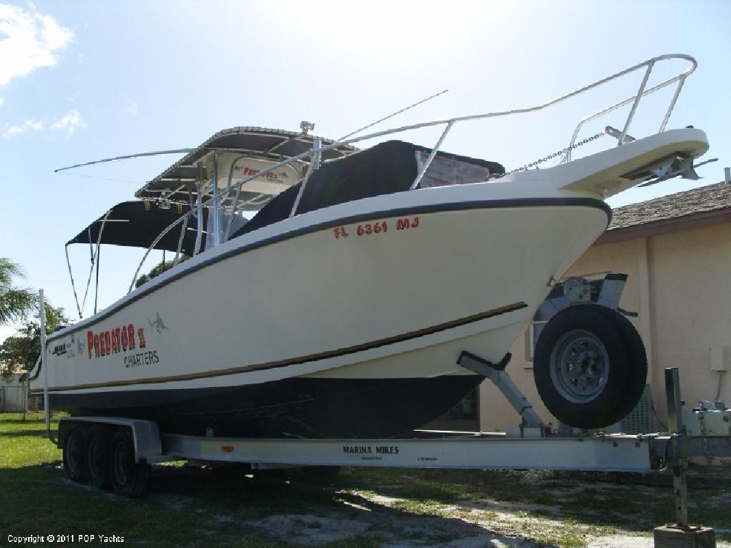2001 28' Mako Marine International 282