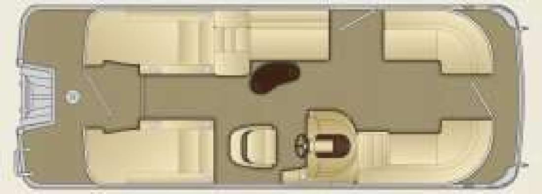 2011 22' Bennington Marine LLC 2275GCW