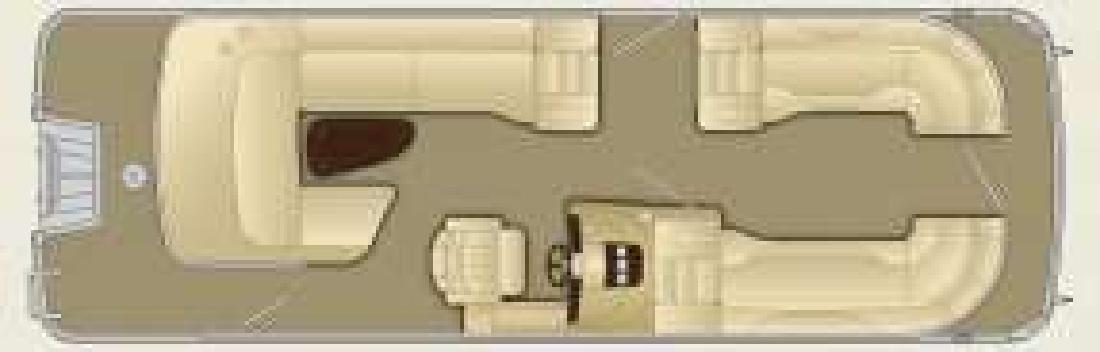 2011 25' Bennington Marine LLC 2550RCL
