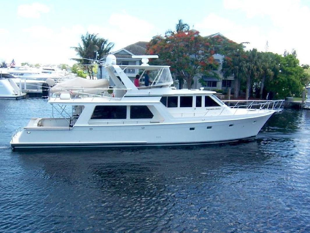 2001 62' Offshore Marine Pilothouse Motoryacht