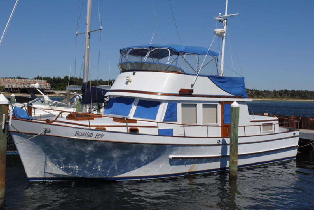 1978 44' Marine Trader for sale in Pensacola, Florida | All Boat Listings. ...