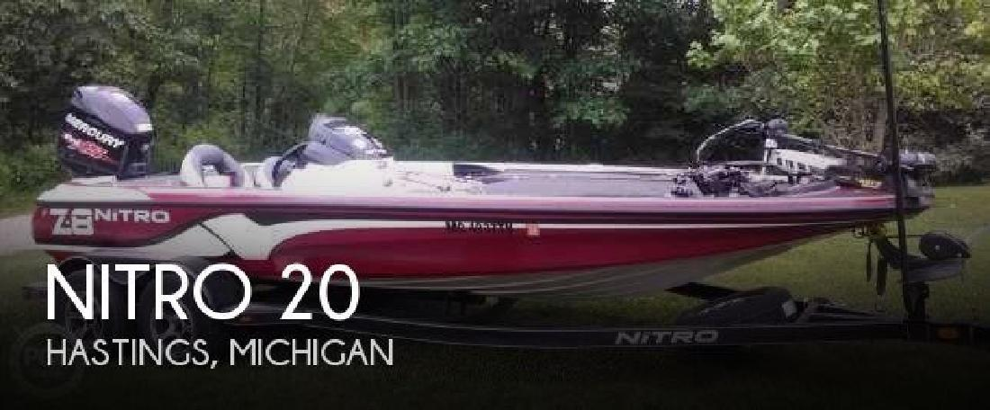 2015 Nitro by Tracker Marine Z-8 Hastings MI