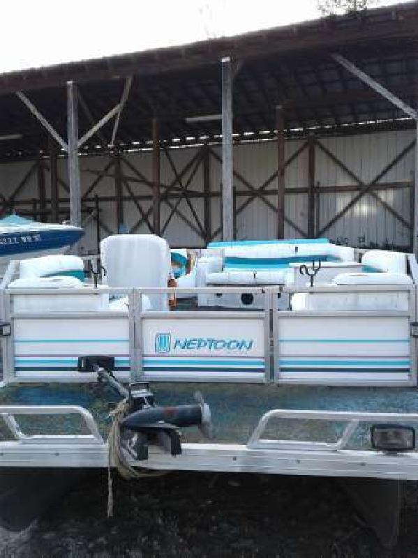 1992 JC 204 Neptune pontoon Mariner 50 tnt Dawsonville GA