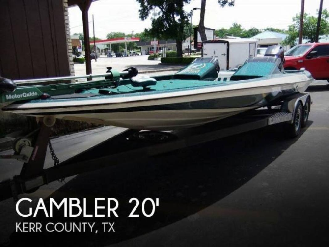 1996 gambler boats by maritec kerrville tx for sale in for Fishing boats for sale in texas